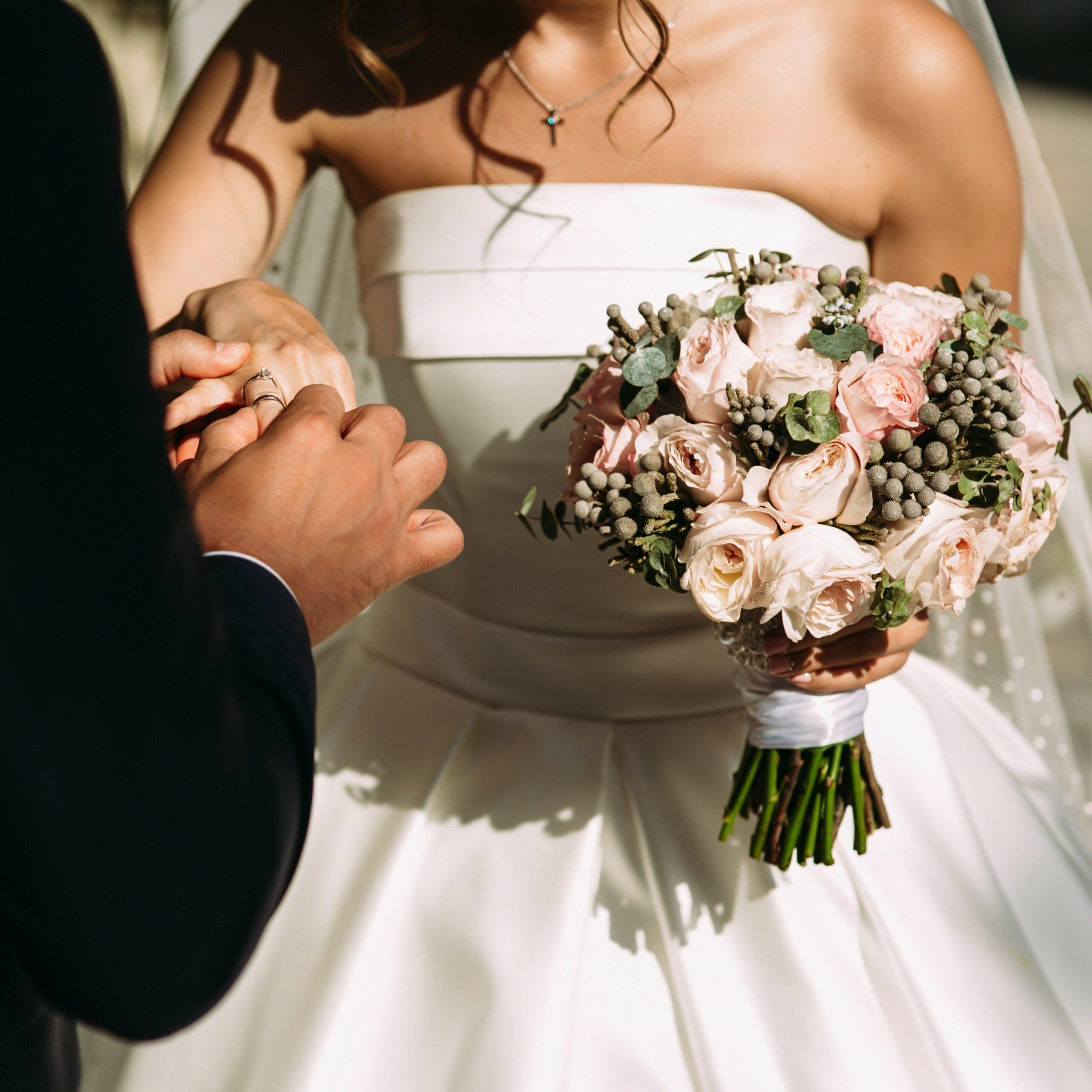 Wedding,Ring,On,The,Bride's,Finger
